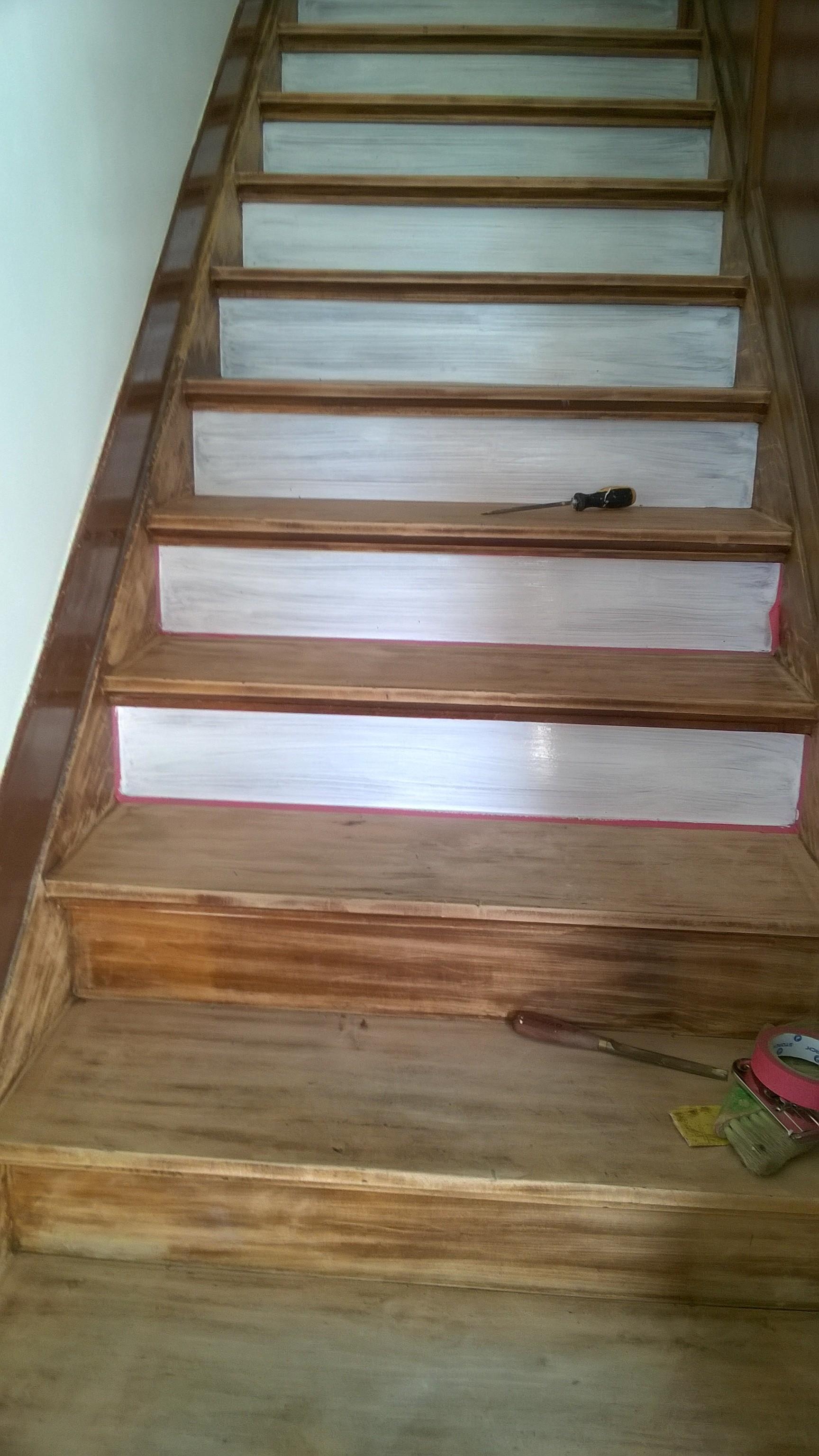 schilderen van trap – lochristi